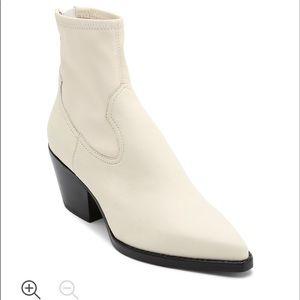 Dolce Vita white booties